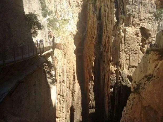 Caminito del Rey - Seconda parte del canyon