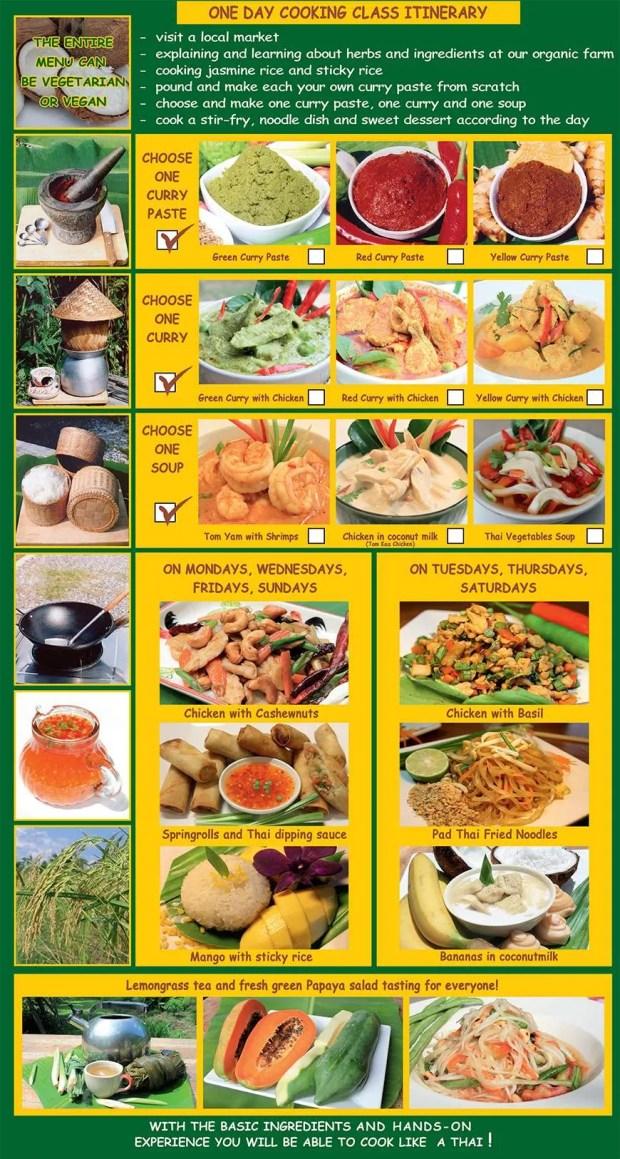Corso di cucina thai