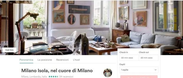 Dormire a Milano Isola da Airbnb.it