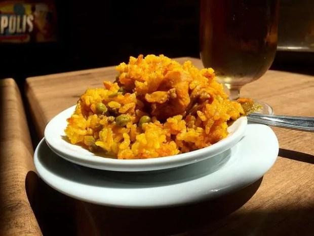 Les tapas spagnole: tapa di paella