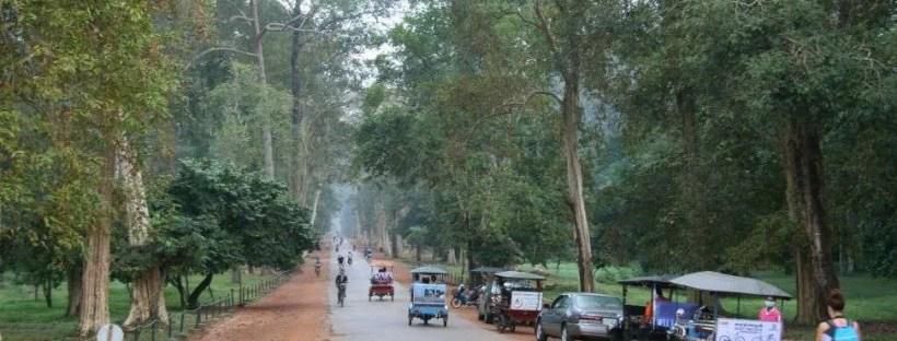 Strada di Angkor
