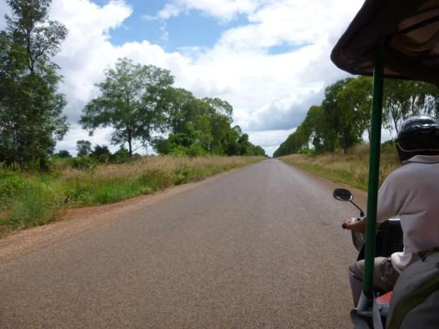 Visitare Angkor in tuk tuk