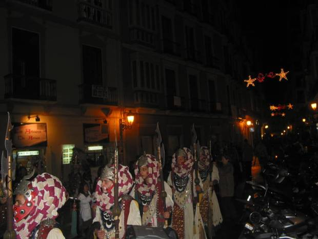 Il corteo dei Reyes Magos arriva a Malaga