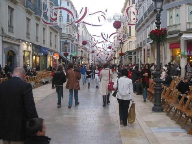 Malaga, 2010. In attesa della sfilata dei Reyes Magos