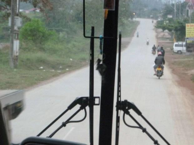Vista dal bus per Luang Prabang