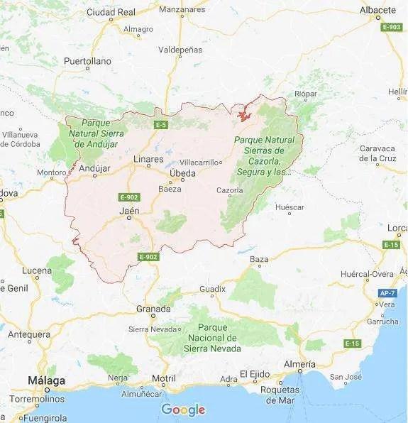 Cosa vedere a Jaén: Mappa Jaén