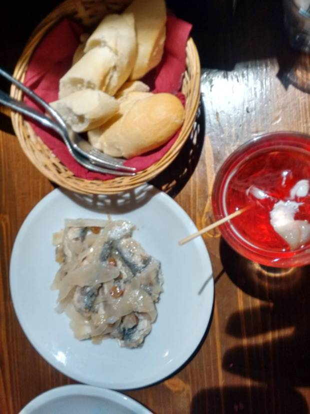Dove mangiare a Venezia: Sarde in saor a Ruga Rialto