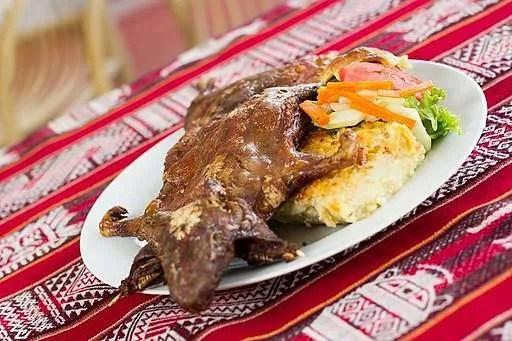 La cucina peruviana: Cuy Chactado