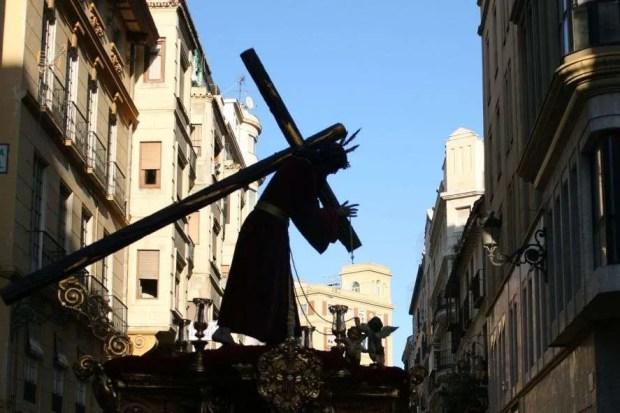 Pasqua in Andalusia - Trono di Cristo in processione