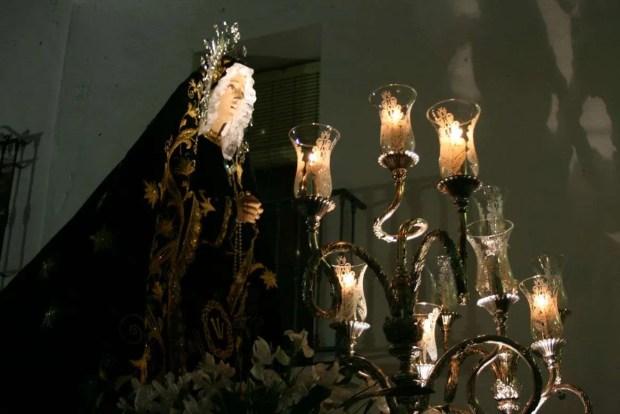 Pasqua in Andalusia: Vergine in processione