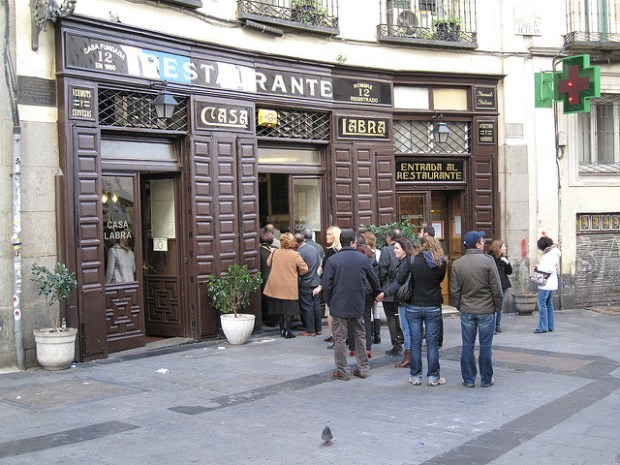 Dove mangiare a Madrid: Casa Labra foto by Alejandro Arce Herrero - Flickr.com