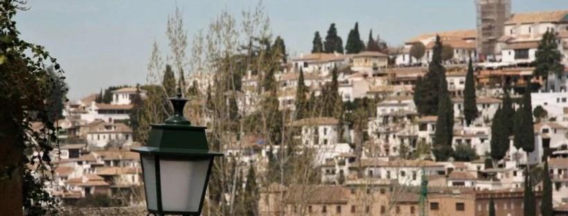 Non conosci Granada se... Veduta sulla città