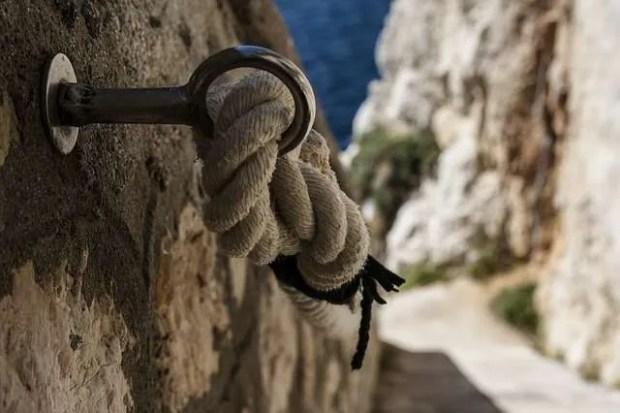 Vacanza in Sardegna: la scalinata di Capo Caccia