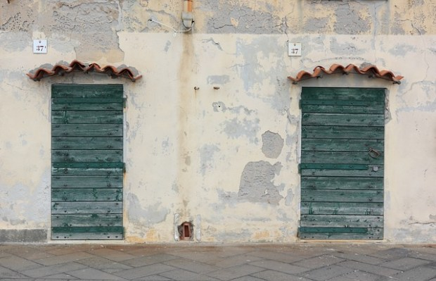 Dettaglio architettonico sul Lungomare di Alghero