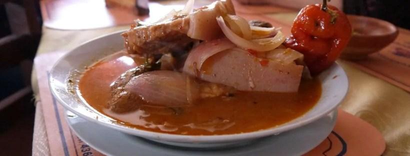 Street food peruviano