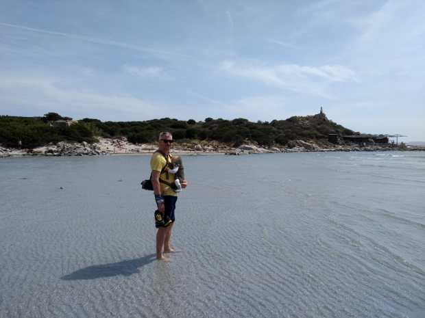 Il paradiso a Punta Molentis