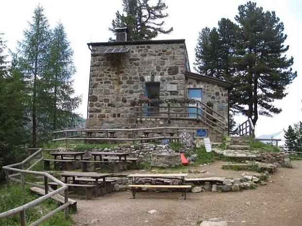 Il rifugio Taramelli