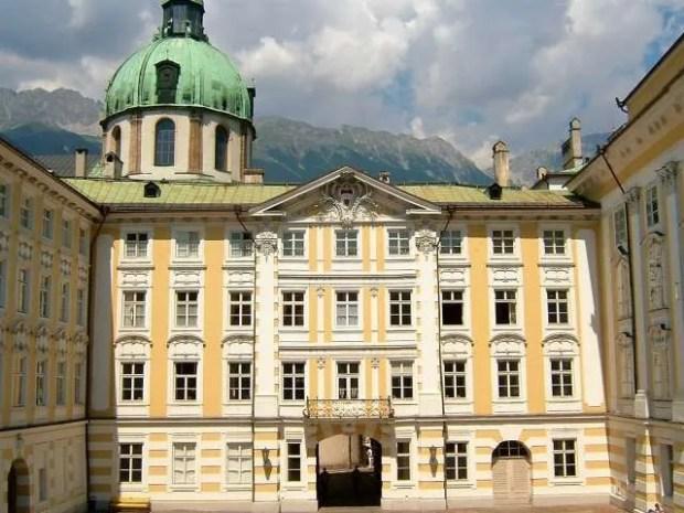 Il palazzo imperiale di Innsbruck