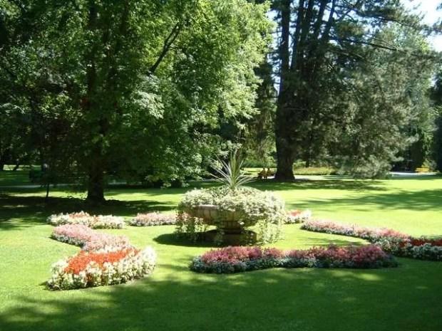 Uno scorcio dei giardini imperiali