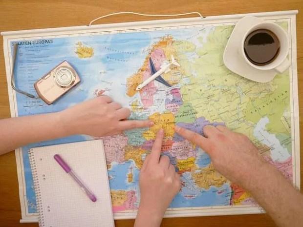 Pianifica attentamente l'itinerario delle tue vacanze in camper