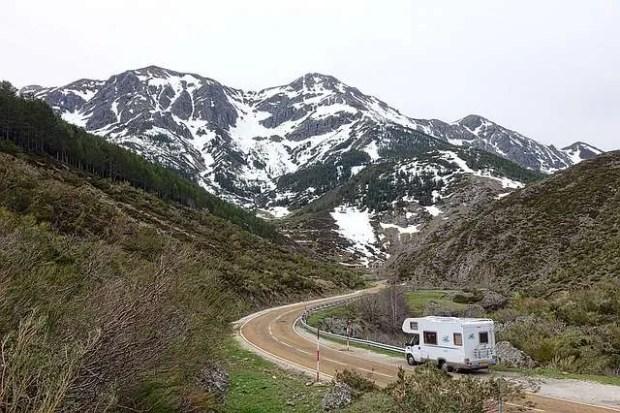 Vacanze in camper in montagna
