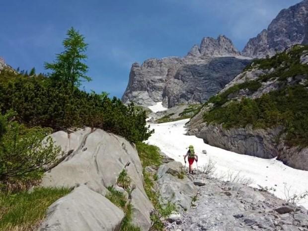 La salita al Rifugio Lambertenghi e al Lago Volaia