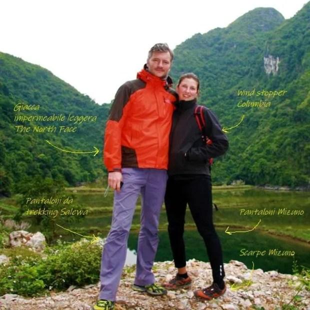 Abiti da viaggio - Nel verde di un'isola di Halong Bay in Vietnam