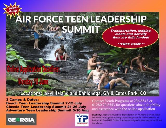 Teen Leadership Camp 2019