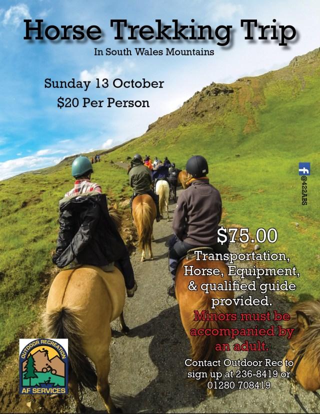 Horse Trekking Trip 2019