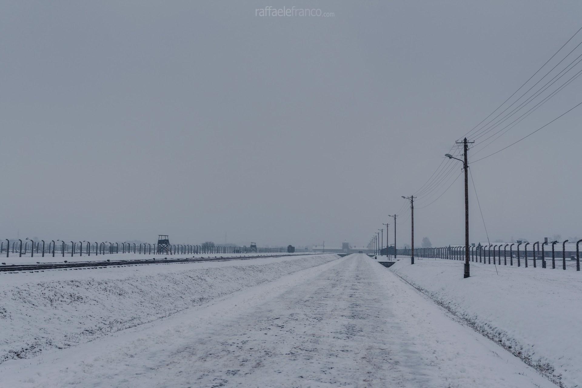 L'immensità del campo di Auschwitz-Birkenau II
