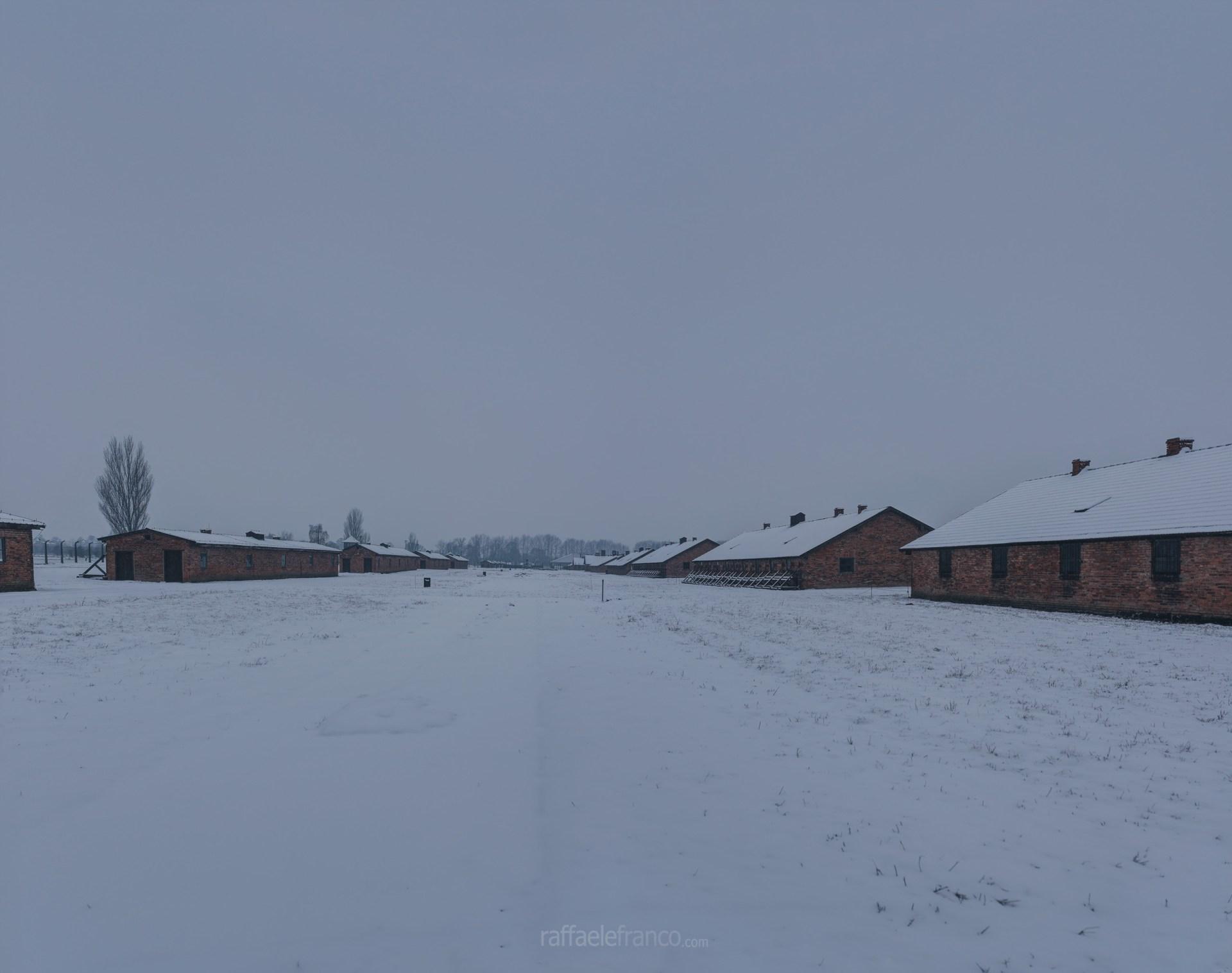 """Il luogo dove sorgeva la baracca """"dei bambini"""" di Josef Mengele."""
