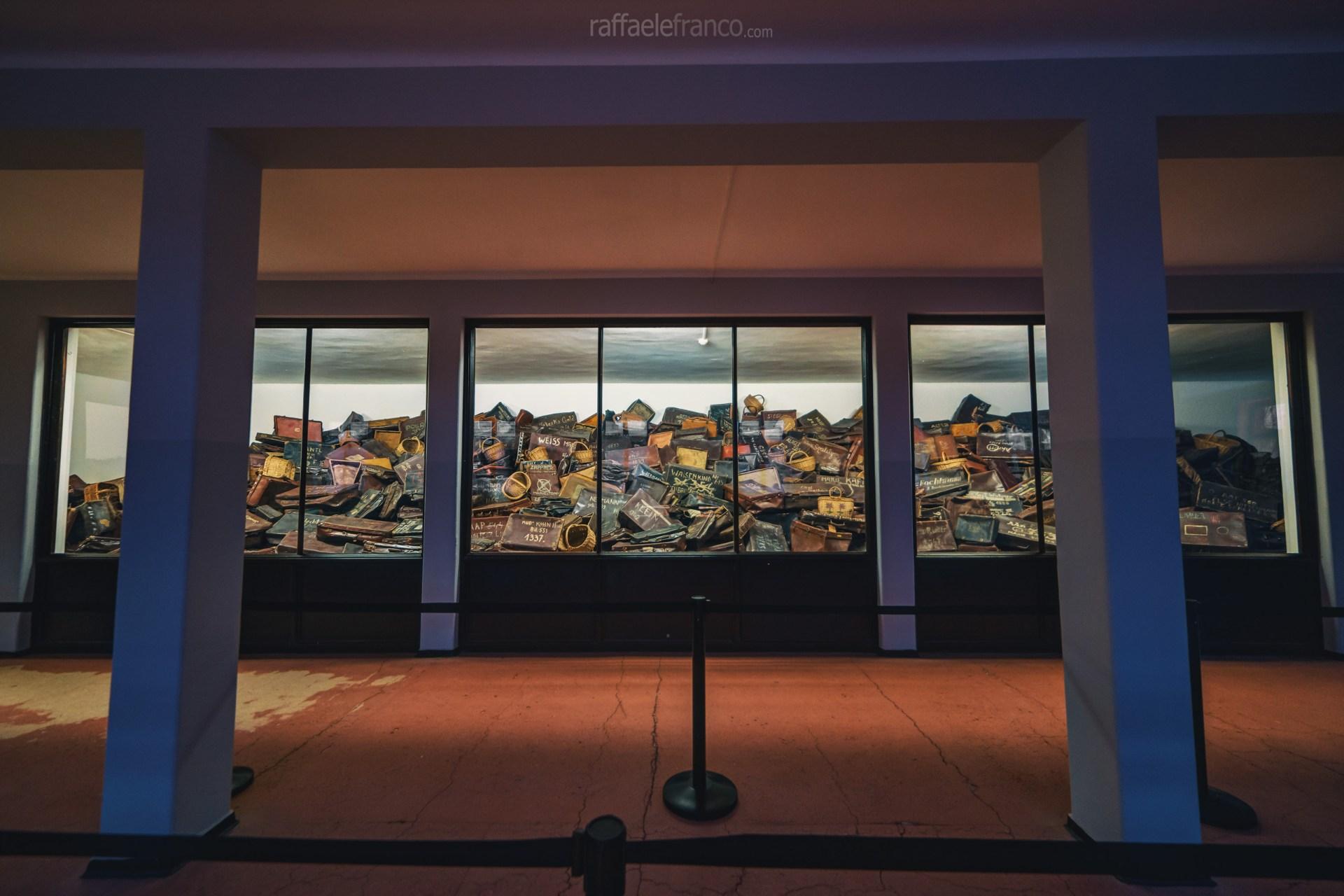 Le valigie dei prigionieri di Auschwitz