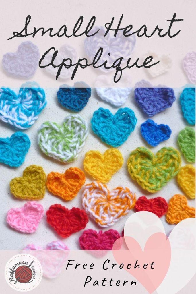Free Crochet Pattern for Cute and Modern Applique ⋆ Crochet Kingdom | 1024x683