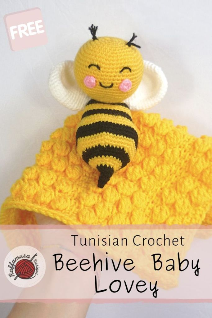 Barry the Bee Amigurumi toy crochet pattern | 1024x683