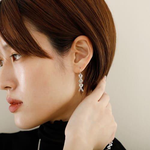 JewCas Chain pierced&earrings[JC3830]