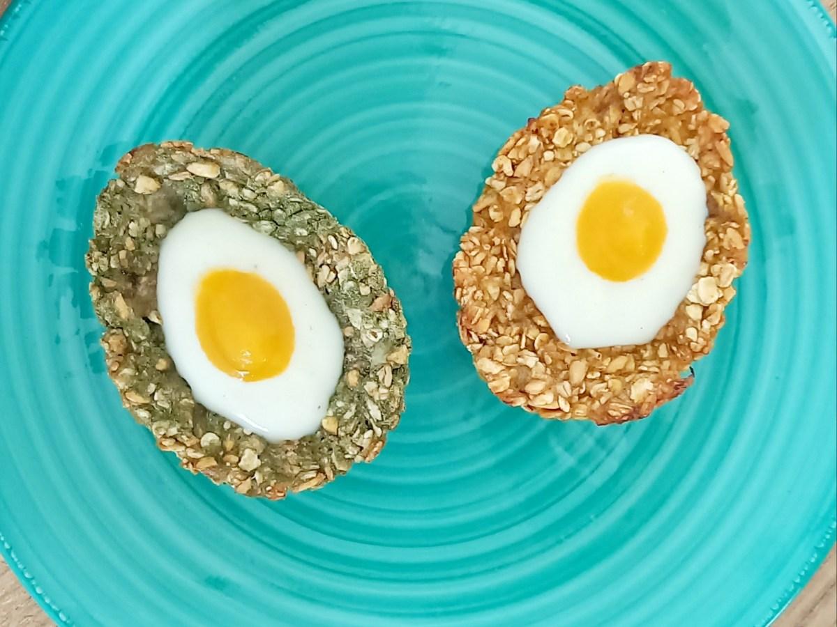 Granola Cup Eggs vegan