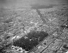 Vista aérea de la Alameda