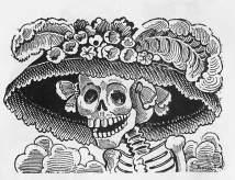 La calavera catrina. José Guadalupe Posada