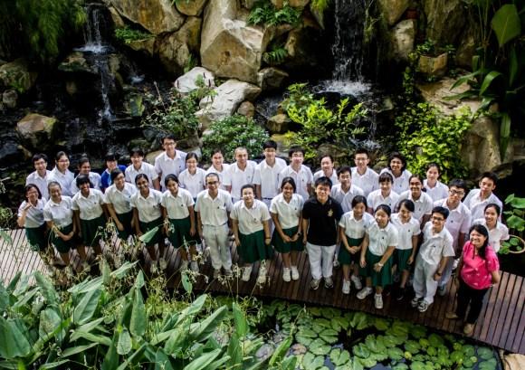Biosoc 2012 at the Biodiversity Pond – our backyard