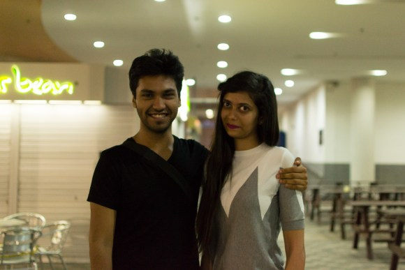 Shitij and Arti, the creators of Humans of Singapore!