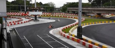 Gokarting at KF1's circuit