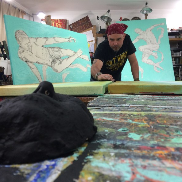 Rafi Perez in Studio