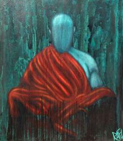 The Blue Buddha