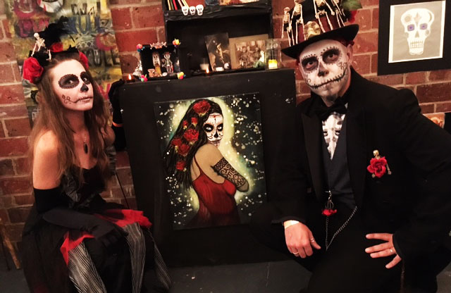 Day of the dead Rafi and Klee