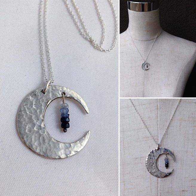 Sapphire Moon by Klee Angelie Jewelry