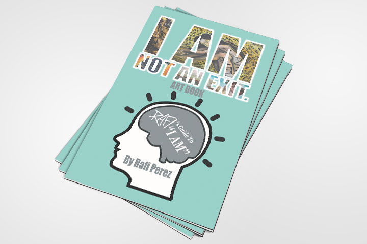 I Am Not An Exit Book By Rafi Perez