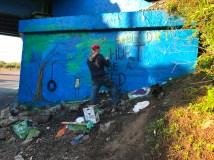 Graffiti Bridge Rafi Perez Child Abuse Awareness