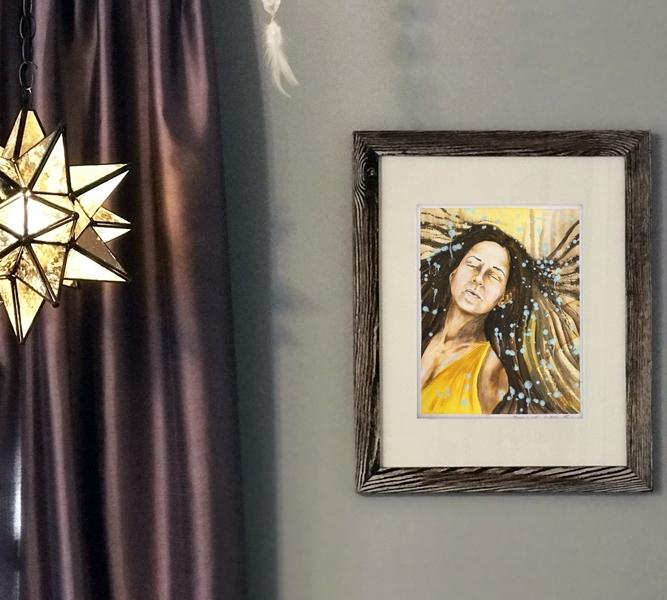 Rafi art portrait