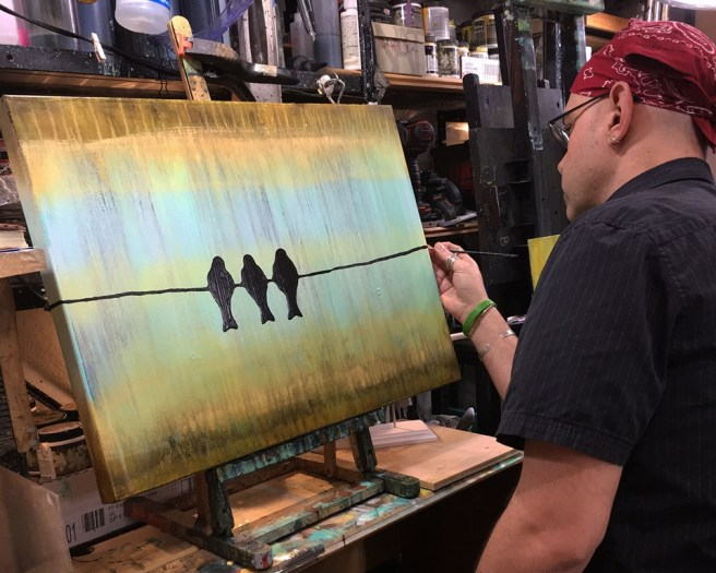 Three Little Birds By Rafi Perez