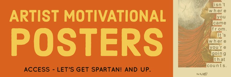 This image has an empty alt attribute; its file name is artistmotivational-button-768x256.jpg